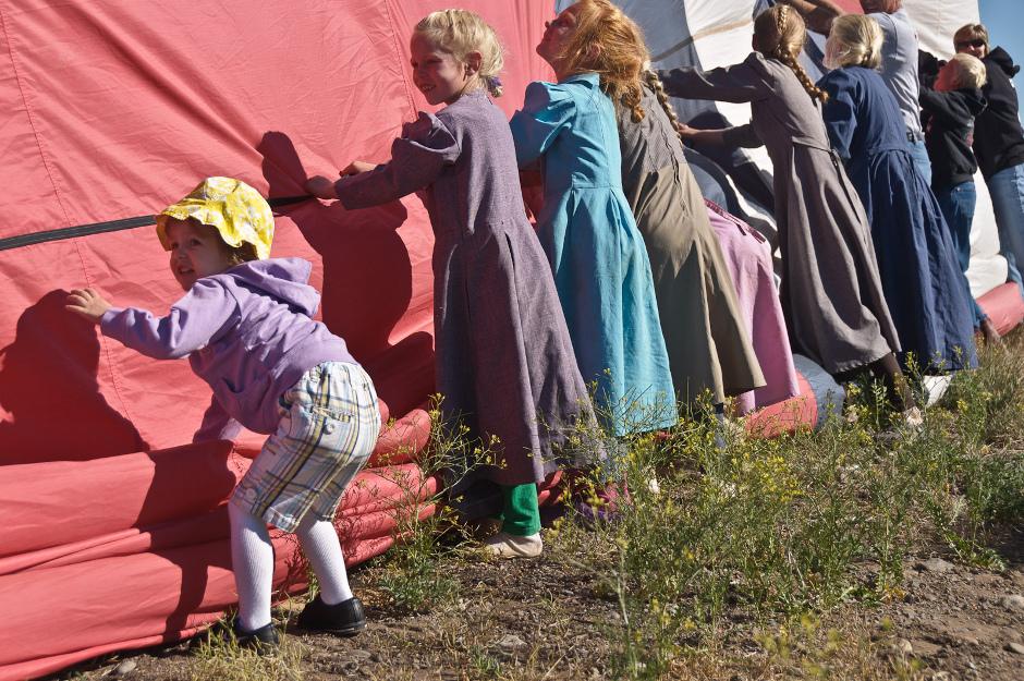 Festiwal balonowy w Panguitch w stanie Utah.