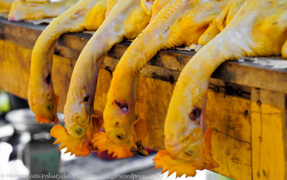 Lokalny market w Wietnamie
