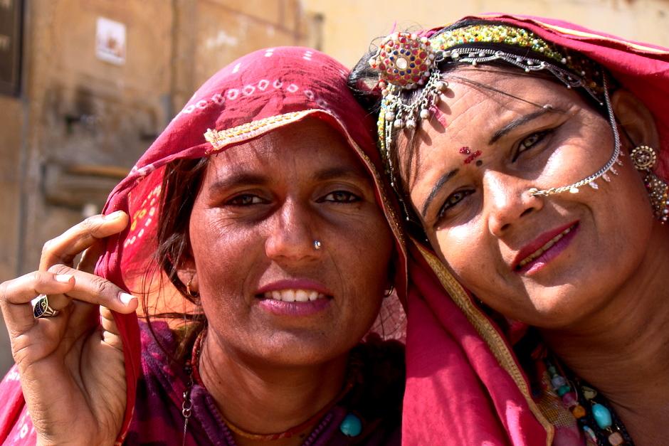Hinduskie kobiety z północy Indii