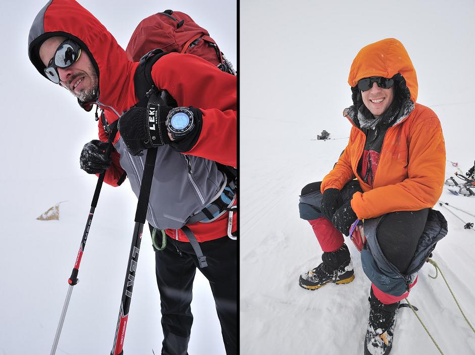 Michał Jasieński i Marcin Klisz na Spitsbergenie