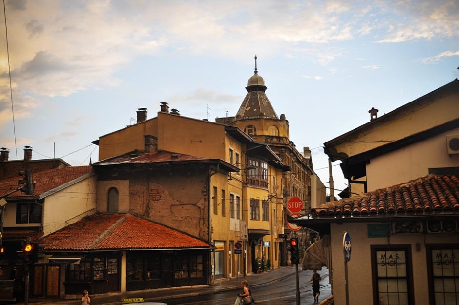 Stare miasto w Sarajewie