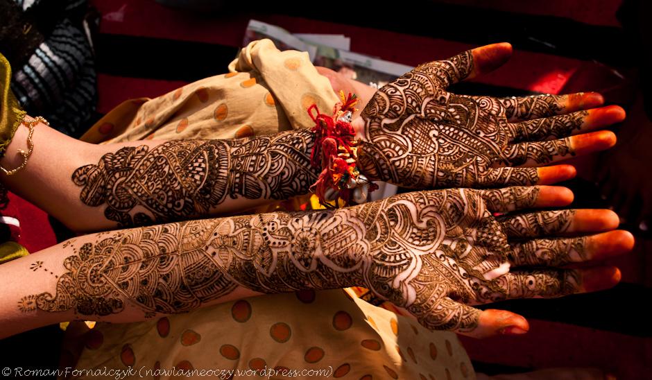 Zdobienie henną