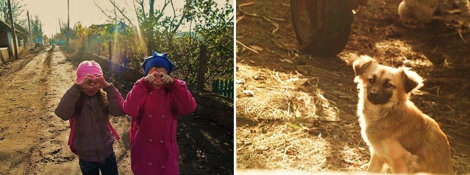 Dzieciaki z polskiej wsi w Mołdawii