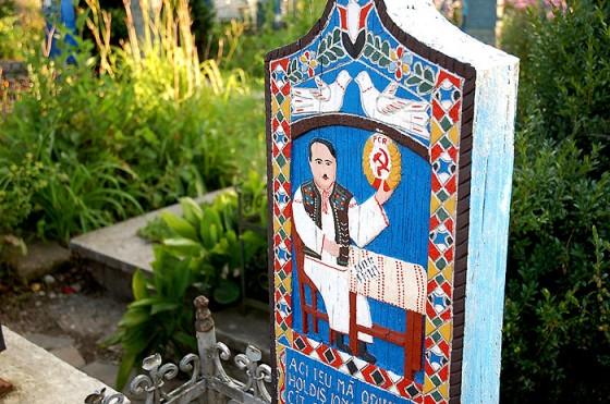 Wesoły cmentarz w Rumunii to unikat na skalę światową.