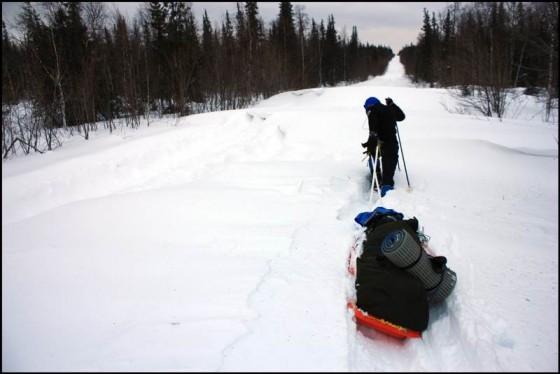 Zimowa ekspedycja przez Ural Subpolarny