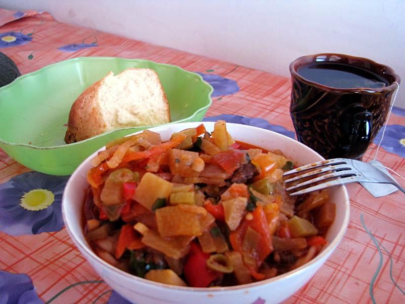 Kirgiska potrawa - langman