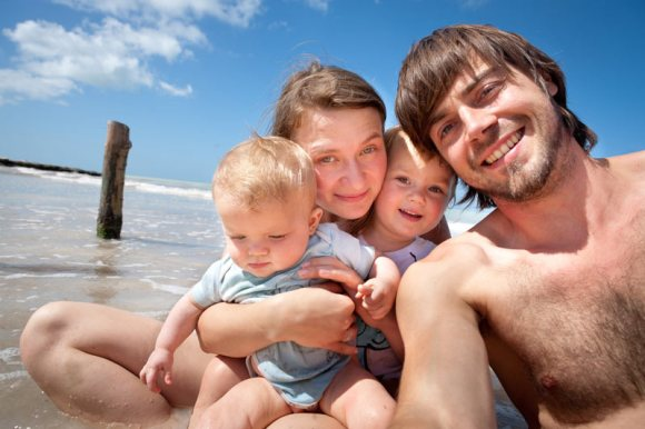 The Family Without Borders - Anna, Thomas, Hania i Mila