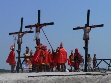 Wielki piatek na wyspie Luzon