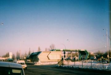 Stacja benzynowa w Kiszyniowie