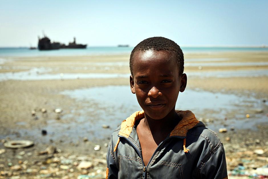 Chłopiec z Somalii