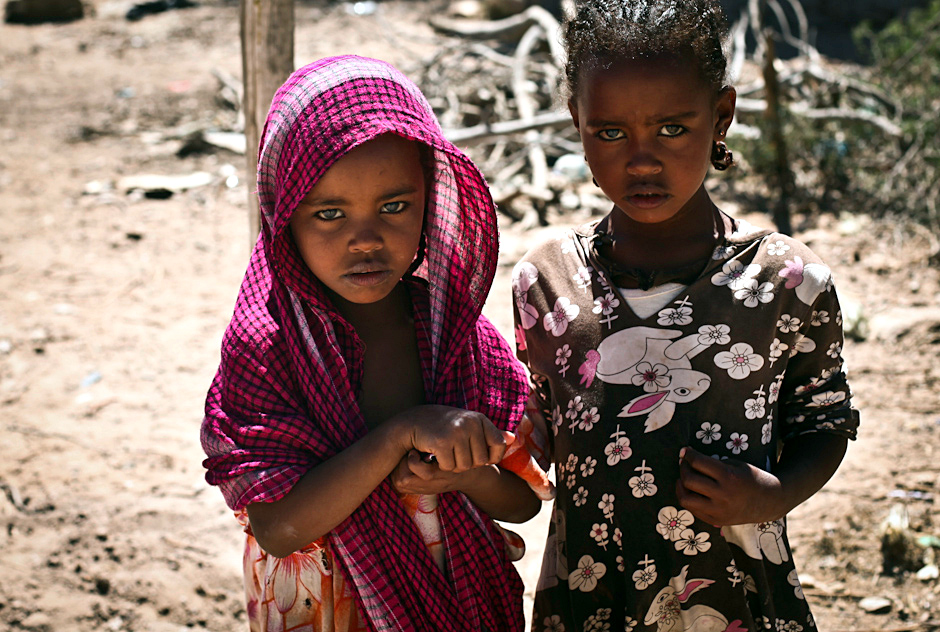 Dzieci z Somalilandu - zdjęcia z podróży