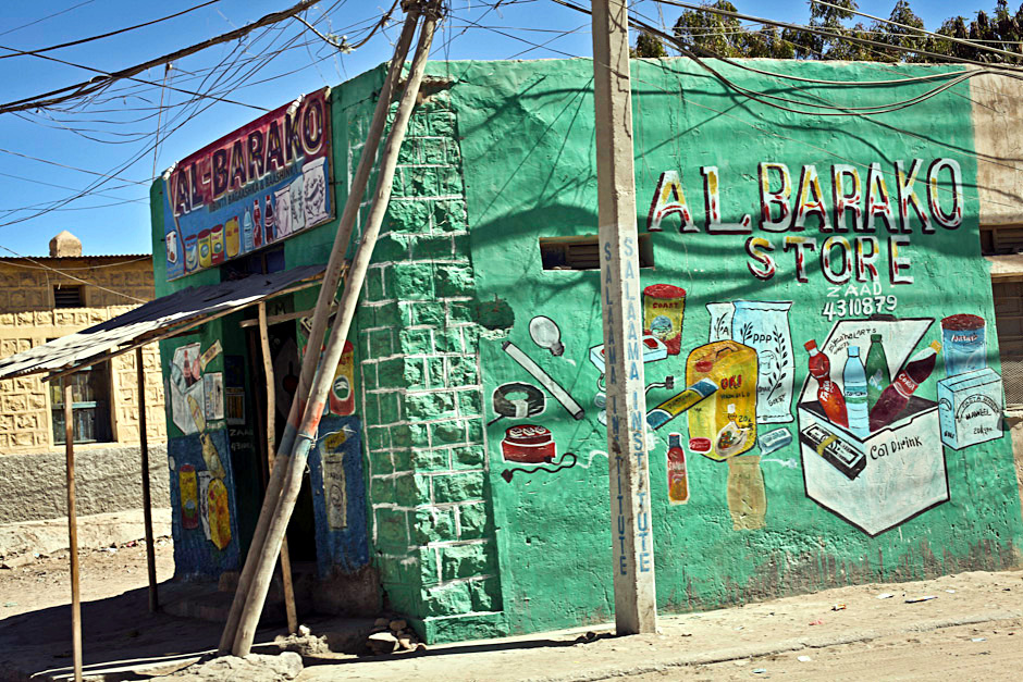 Sklep w stolicy Somalilandu Hargejsie