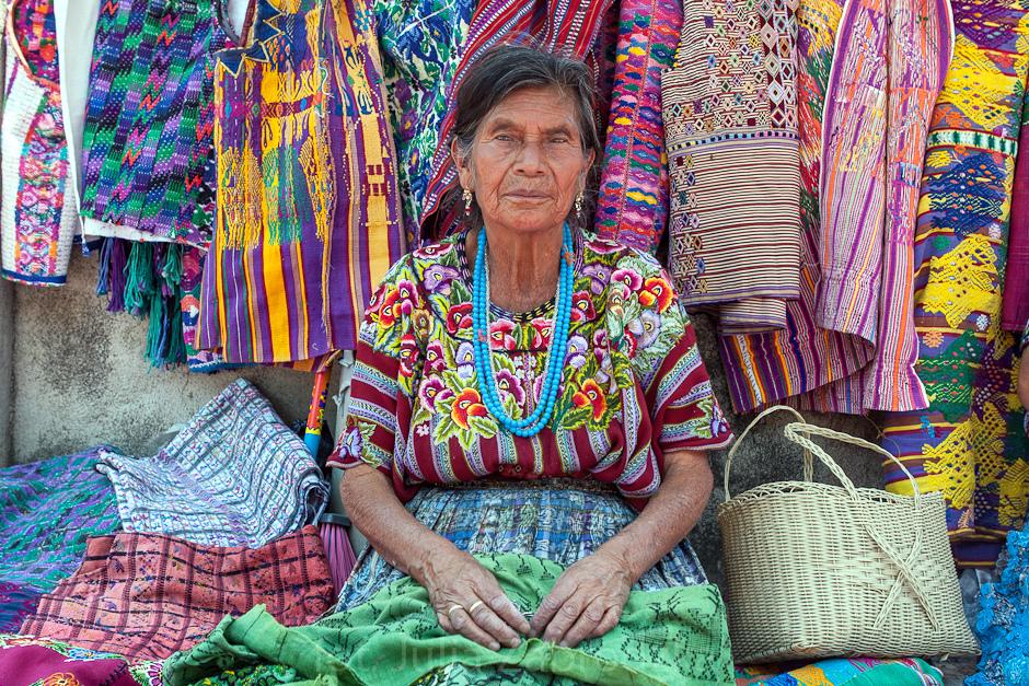 Handlarka z Gwatemali. Podróże - foto