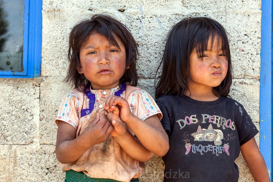 Współcześni Majowie. Dziewczyny z Meksyku