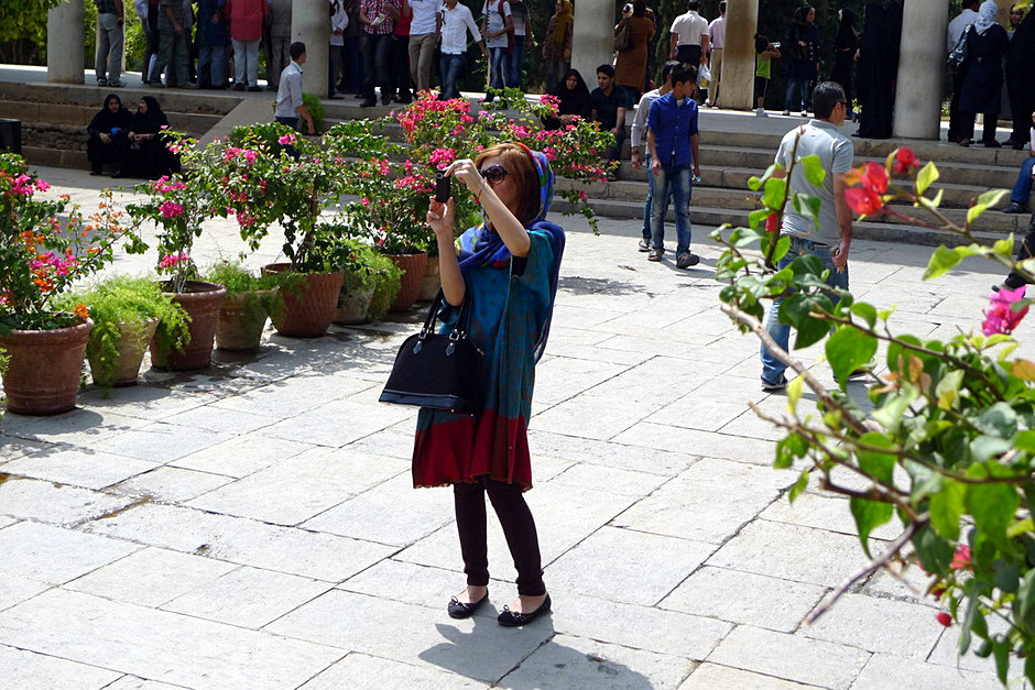 Młoda Iranka z Szirazu