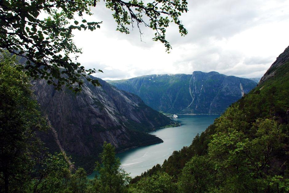 Norweskie jeziora - foto