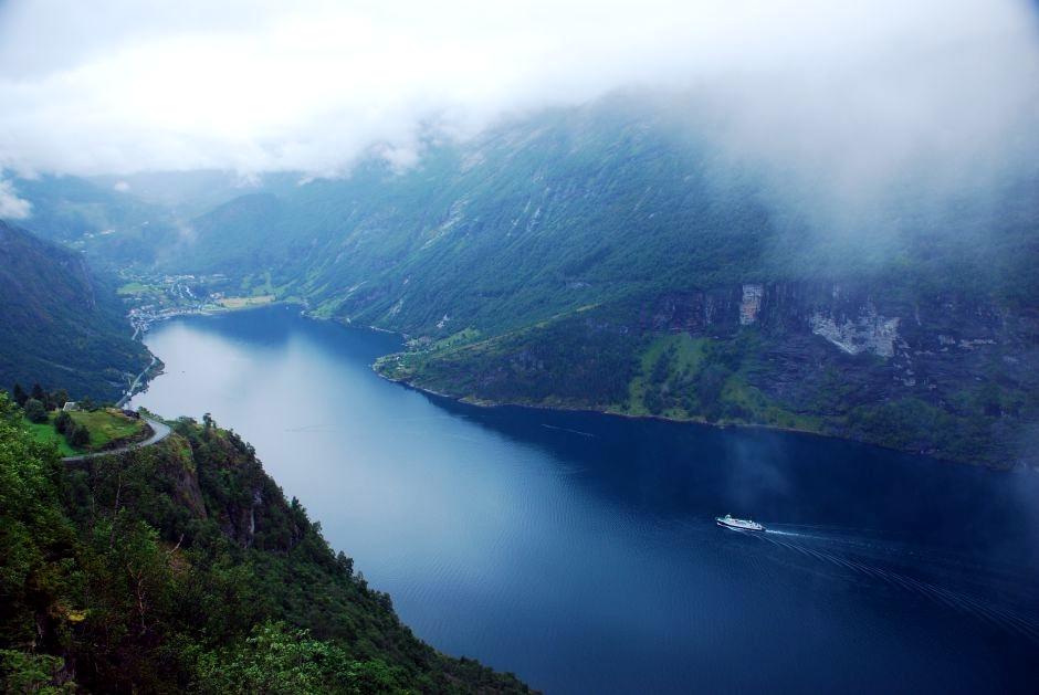 Podczas trekkingu w Norwegii pogoda potrafi zaskakiwać