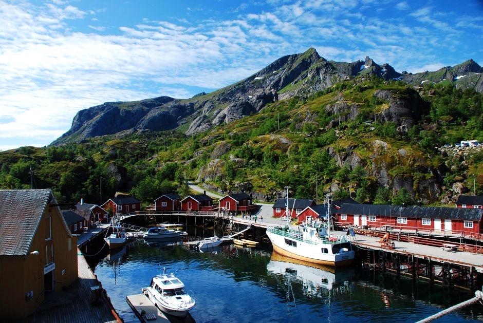 Podróż na Lofoty w Norwegii - zdjęcia