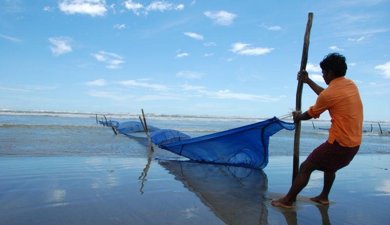 Rybak w Bangladeszu