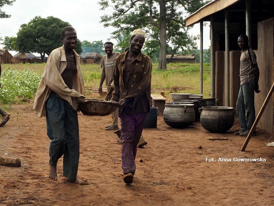 Budowa szkoły w Afryce