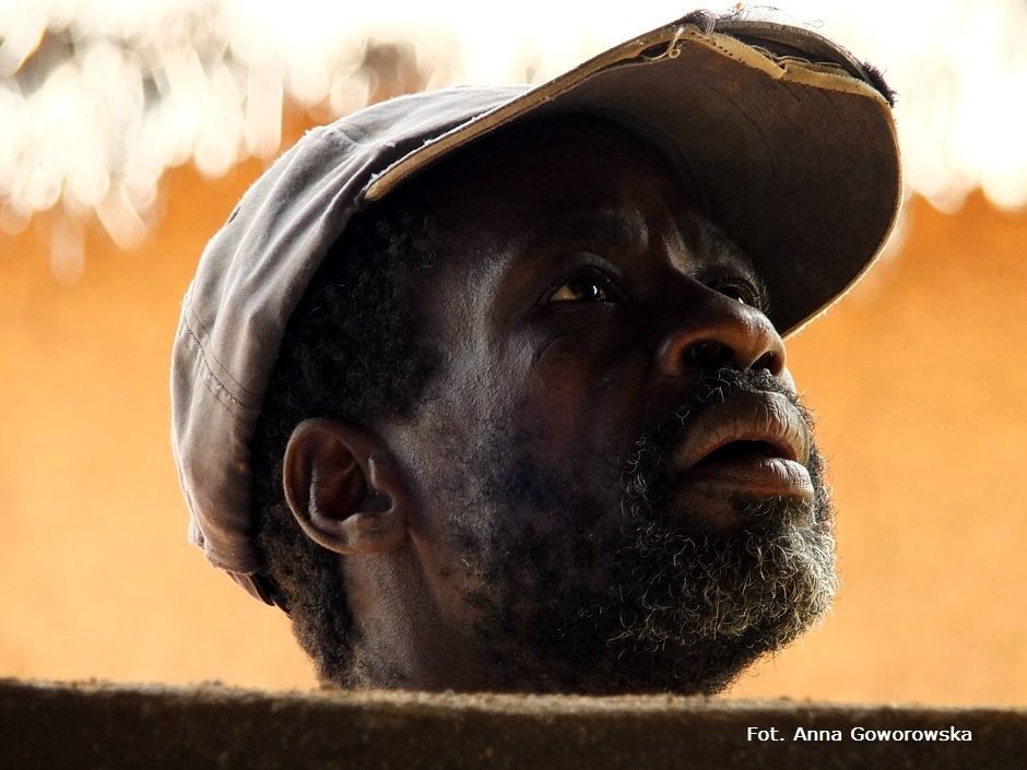 Afryka. Portret mężczyzny z Ghany