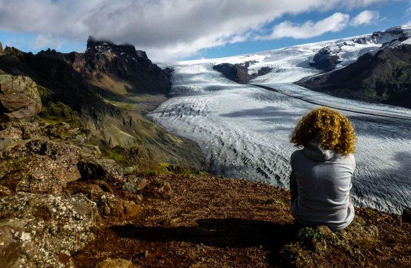 Lodowiec Skaftafellsjökull (Fot. Rafał Ostrowski)