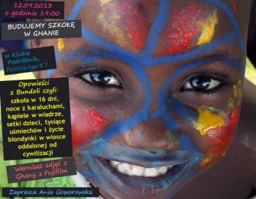 Zdjęcia z Ghany i opowieść o budowie szkoły
