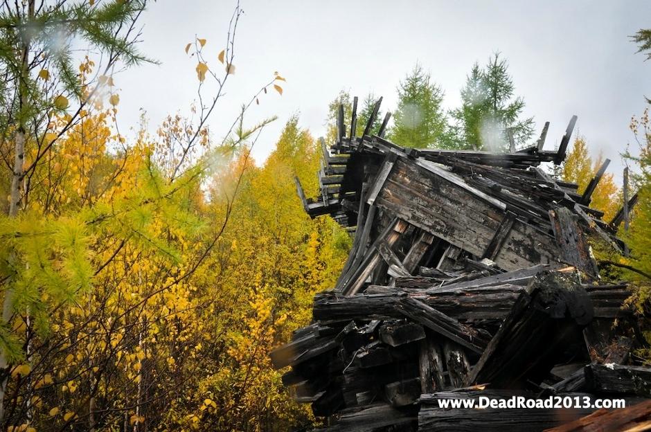 Fragment Dead Road - zdjęcia z Rosji