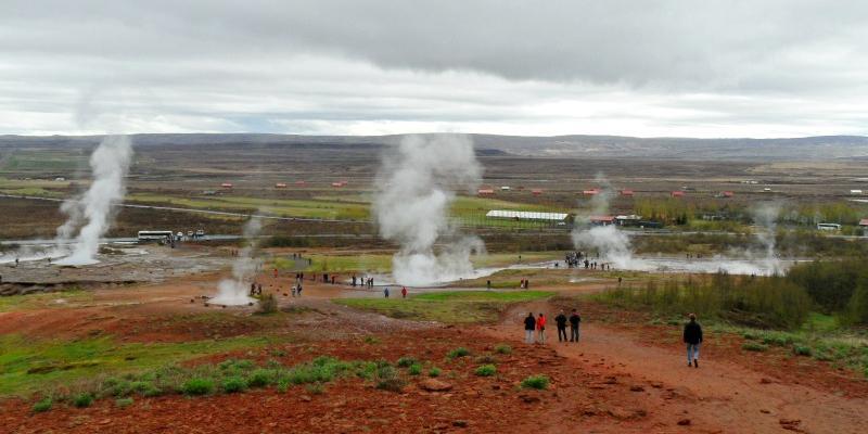 Haukadalur - zdjęcia z Islandii
