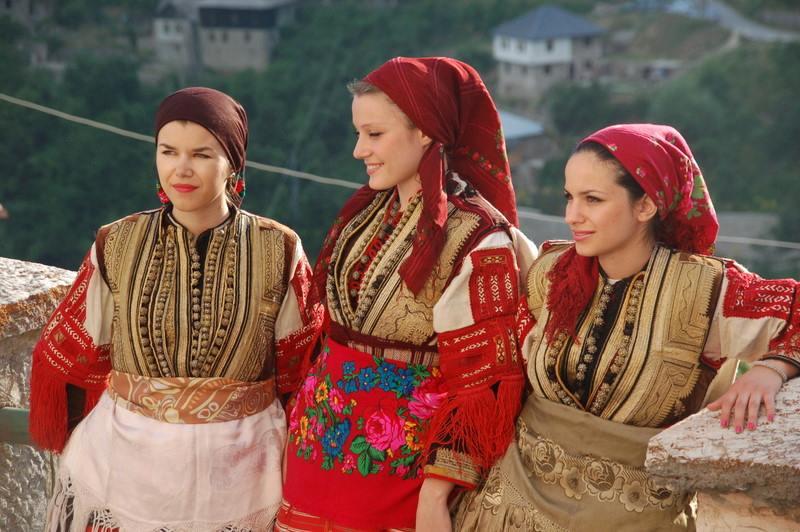 dziewczyny z Macedonii