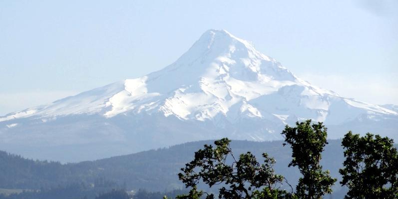 Góra Hood w Oregonie - podróż przez USA