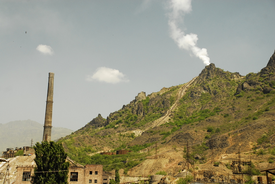 Stara fabryka w Armenii