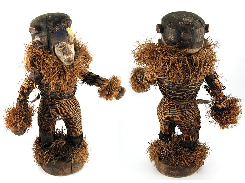 Tańczący wojownik - afrykańska rzeźba