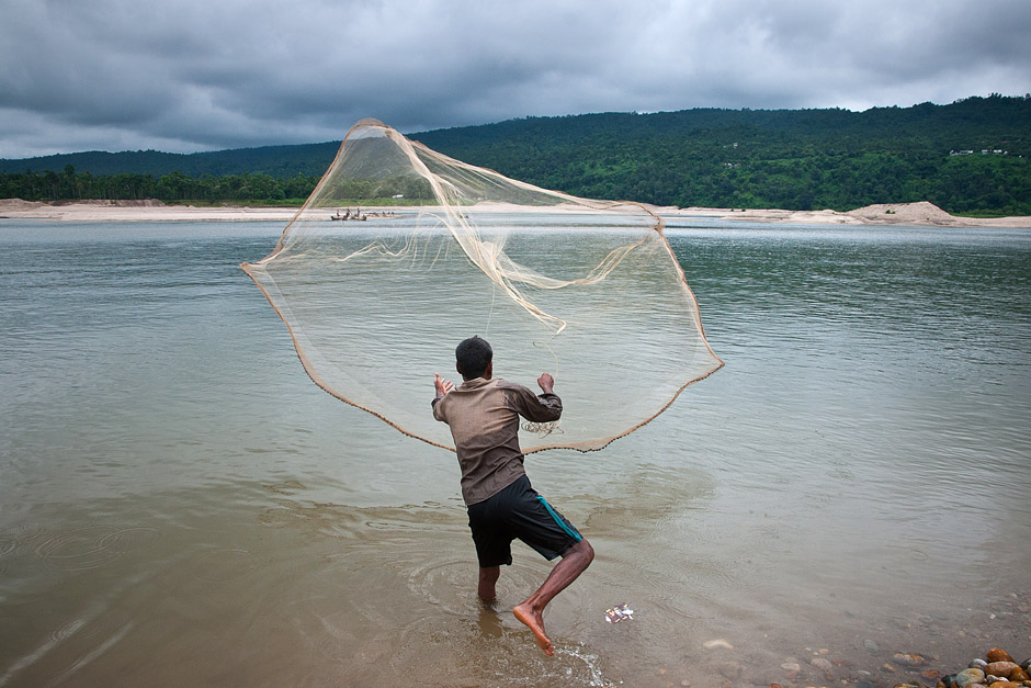Połów ryb w Bangladeszu - foto