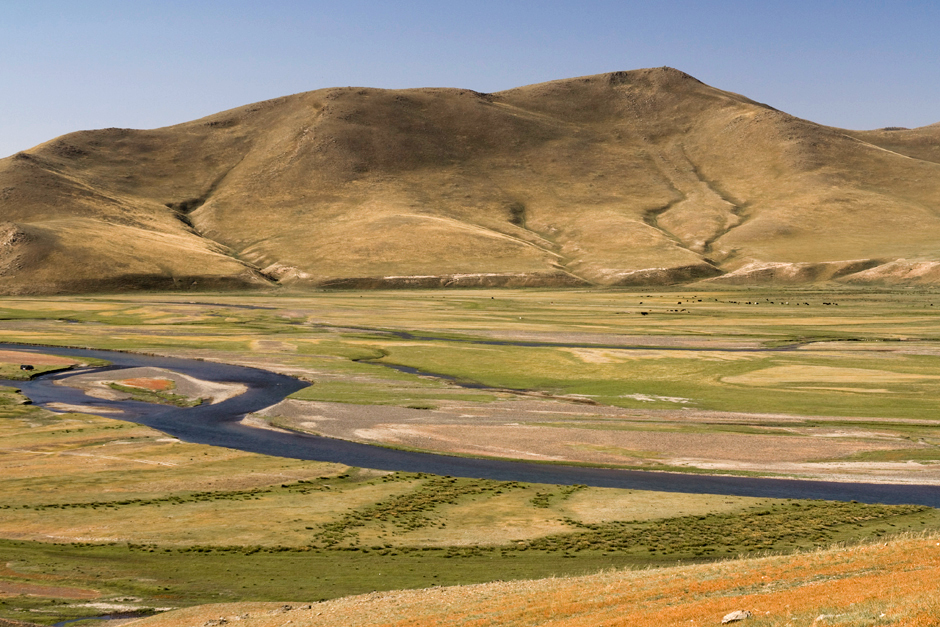 Krajobraz Mongolii