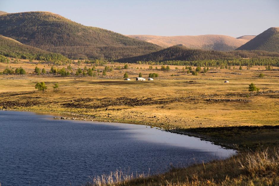 Podróż przez Mongolię
