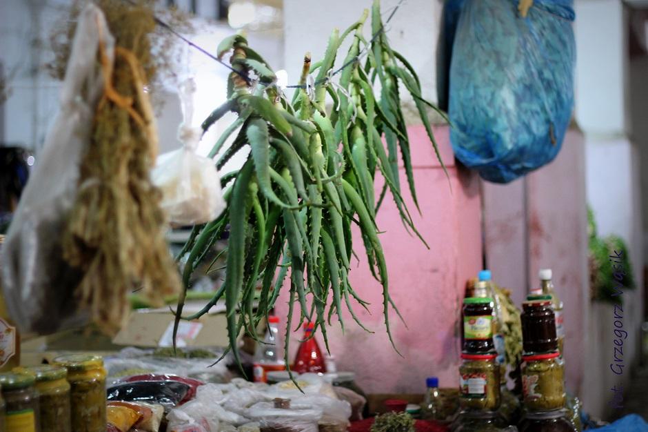Aloes z bazaru w centrum stolicy Azerbejdżanu - zdjęcia z podróży