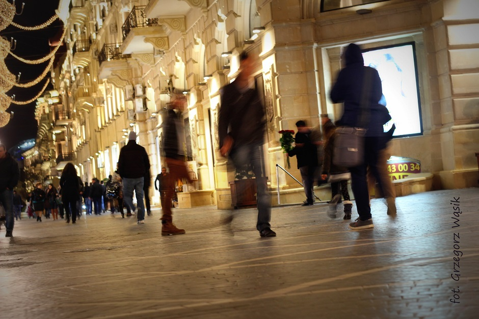 Centrum Baku - zdjęcia