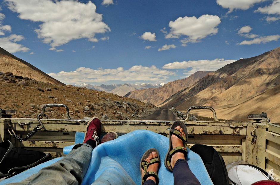 Autostopowa podróż przez indyjski Ladakh