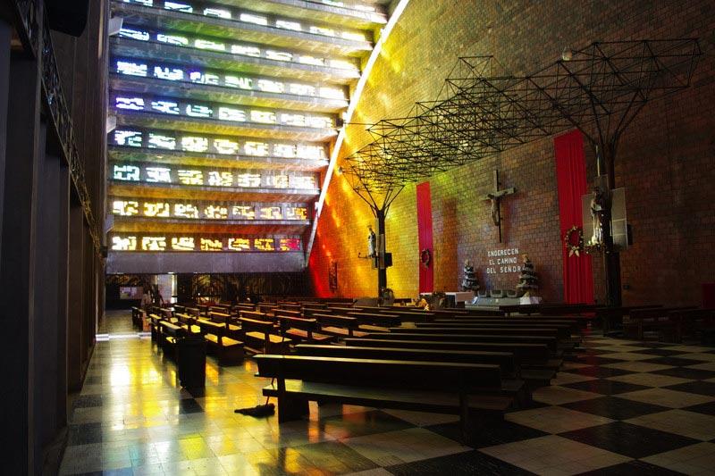 Kościół El Rosario w stolicy Salwadoru