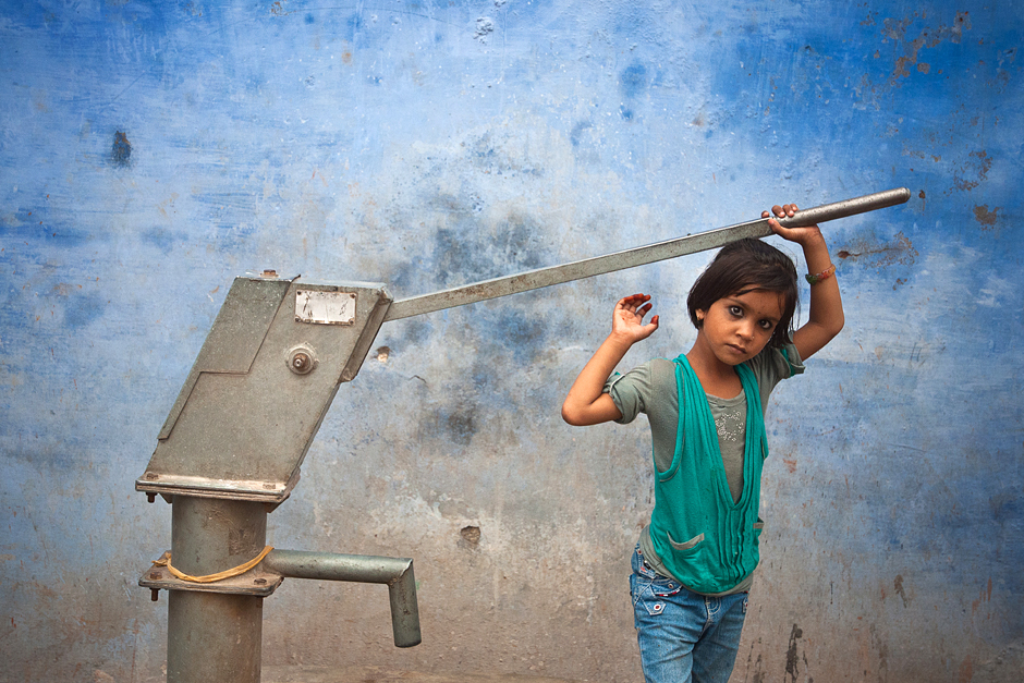 Zdjęcia z podróży do Indii - studnia w Bundi