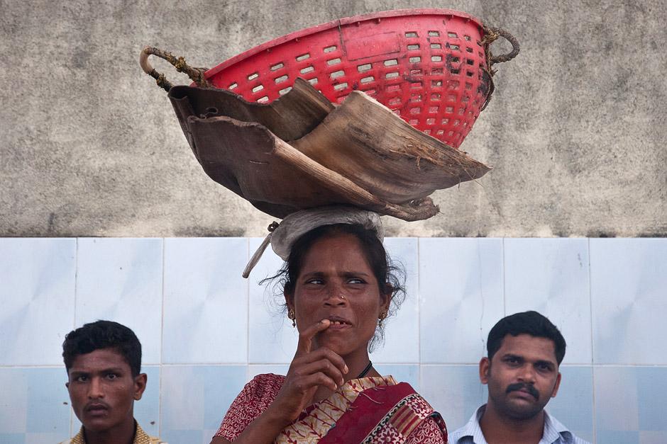 Praca w Indiach przy połowie ryb