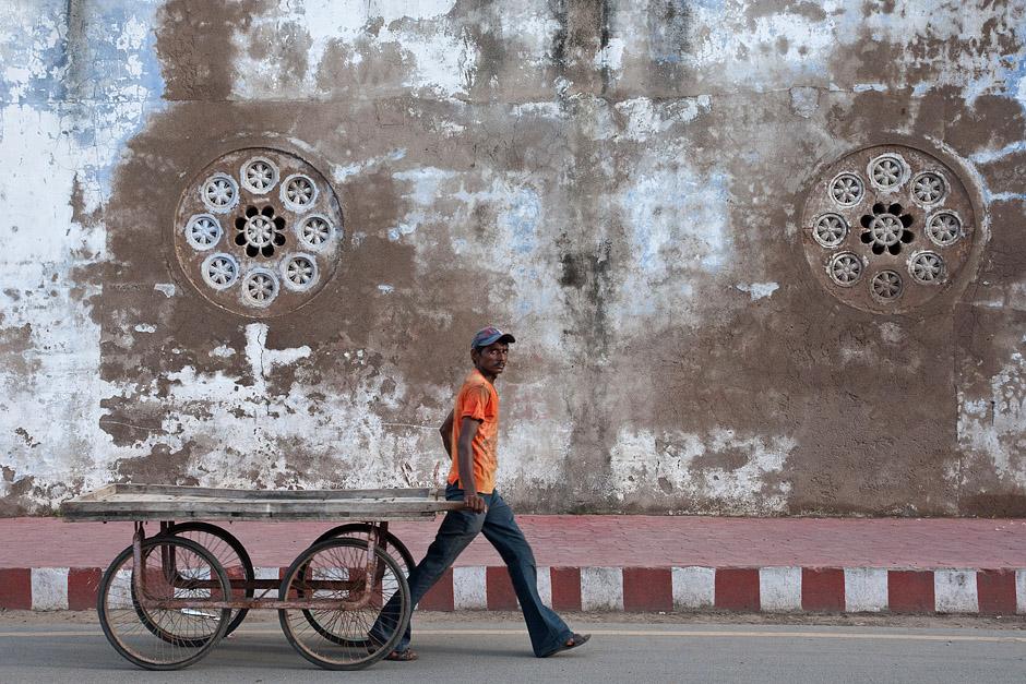 Praca w Indiach - transport towarów