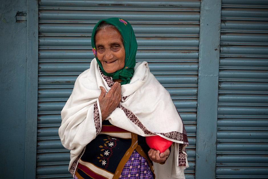 Babcia z Indii