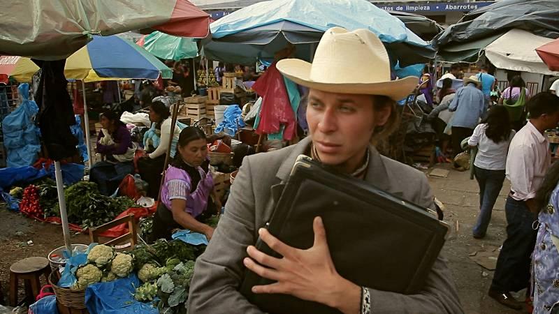 Podróżnik Pasikonik w Meksyku
