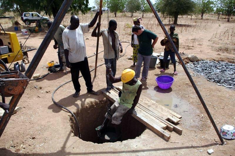 Studnie w Afryce