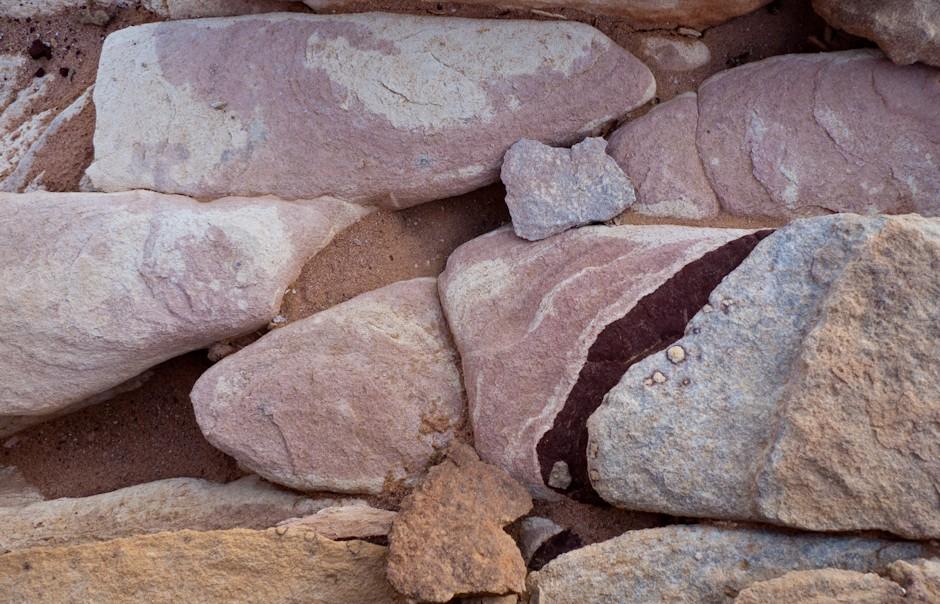 Czerwone skały, Wadi Rum, Jordania