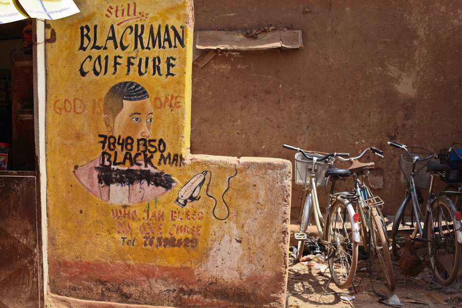 Reklama w Burkina Faso - fotoreportaż z Afryki