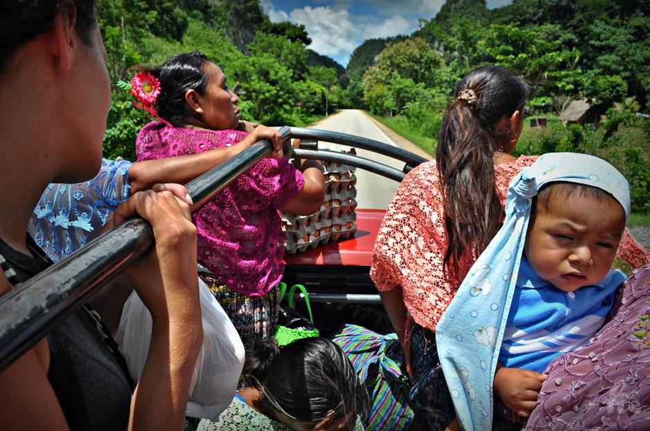 Jazda autostopem przez Gwatemalę - zdjęcia z podróży