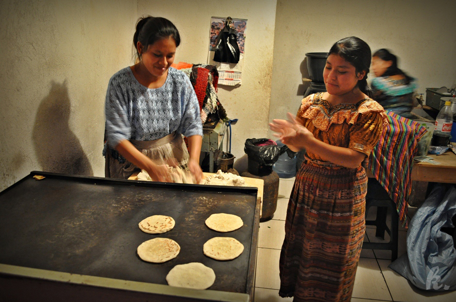Piekarnia w Gwatemali
